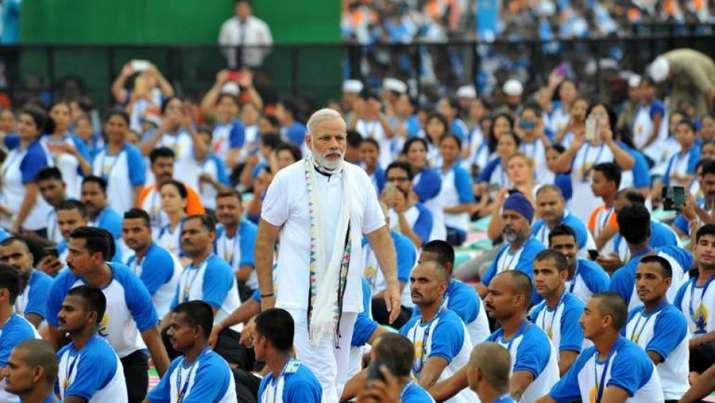 Sensex and Nifty gains on International Yoga Day- India TV Paisa