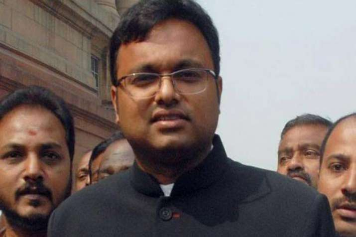 Karti Chidambaram- India TV