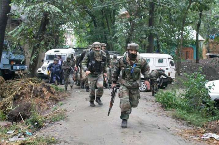 Bandipora encounter: One Army jawan martyred, two terrorists killed in Jammu and Kashmir- India TV
