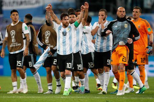 अर्जेंटीना की टीम- India TV