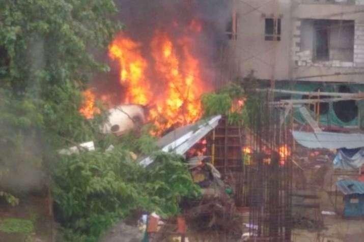 Mumbai Ghatkopar Plane Crash- India TV