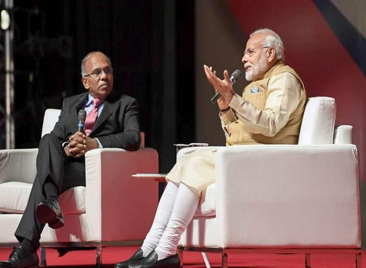 Prime Minister Narendra Modi speaks during his...- India TV