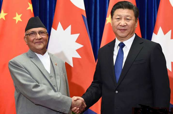 Nepal China- Oli and Jinping- India TV Paisa