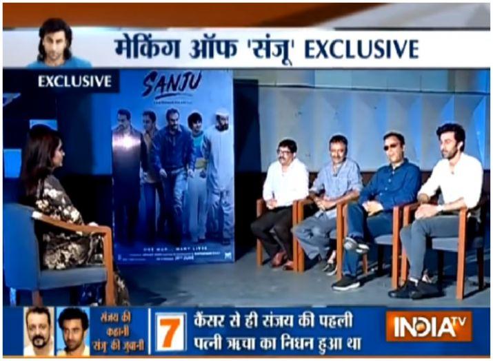 Exclusive: संजू पर राजकुमार हिरानी और रणबीर कपूर का इंटरव्यू- India TV
