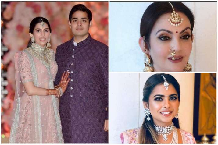 Akash ambani and sweta- India TV