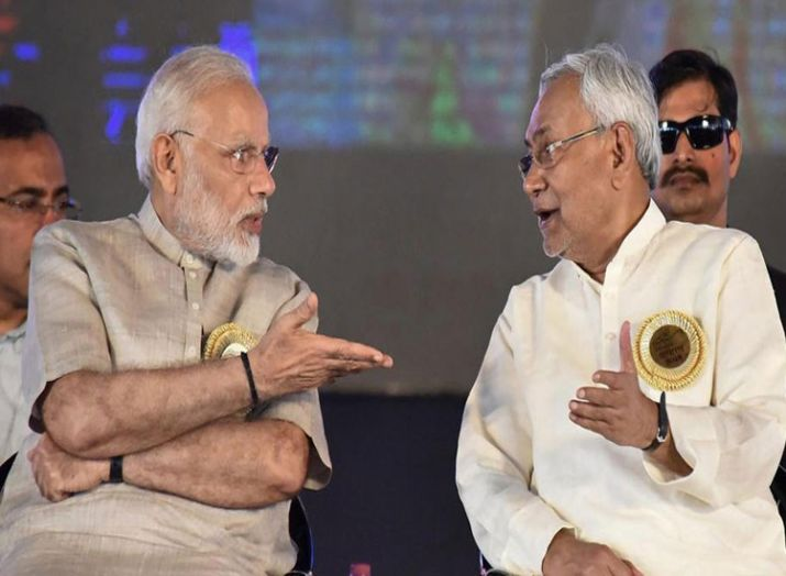 pm modi and nitish kumar- India TV