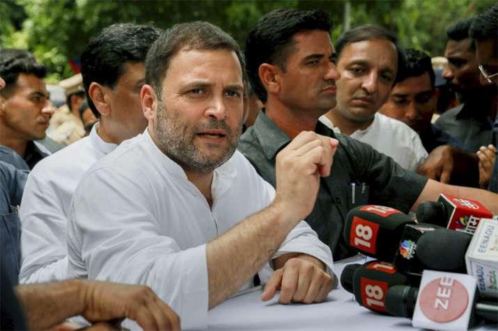 Mahagathbandhan is a sentiment against BJP, RSS, says Rahul Gandhi- India TV