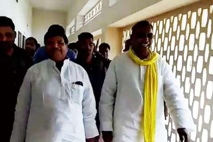 Shivpal Yadav meets BJP ally Om Prakash Rajbhar- India TV