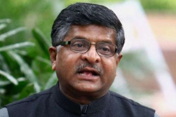 Fear of job loss misplaced, technology will create more employment, says Ravi Shankar Prasad | PTI- India TV