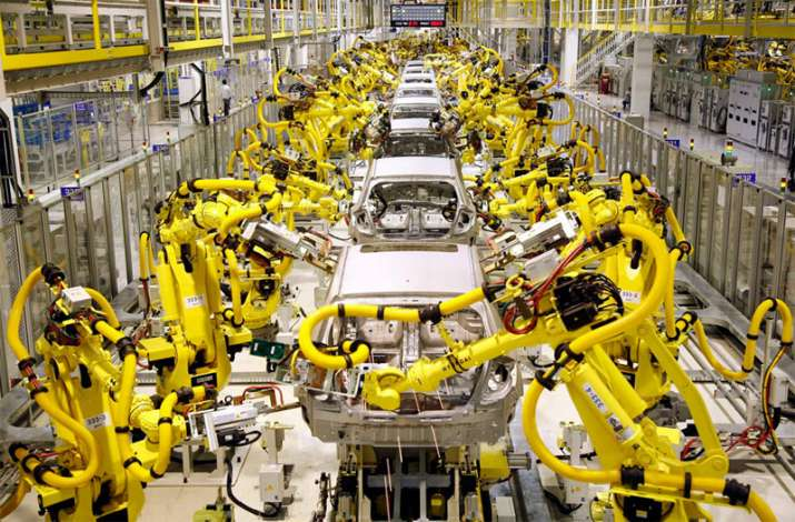 Robot per employees in manufacturing across the world- India TV Paisa