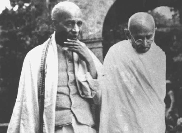 sardar patel and mahatma gandhi (file photo)- India TV