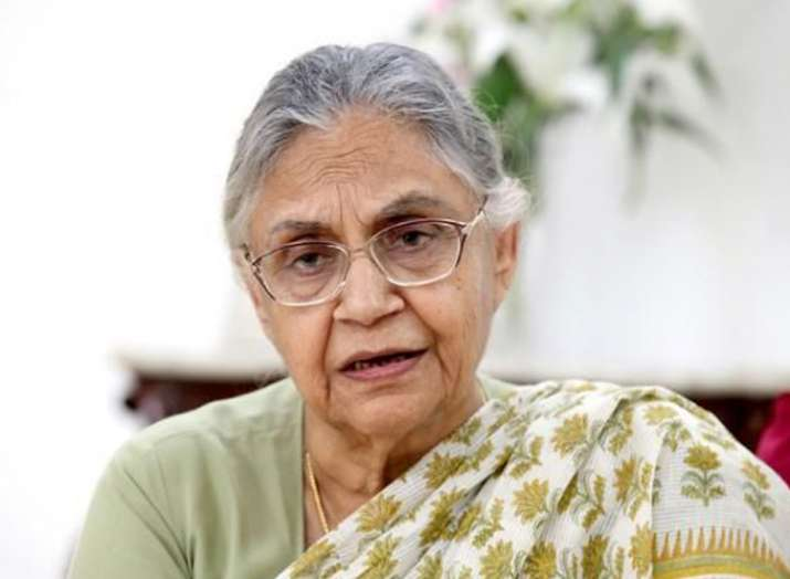 Sheila Dikshit- India TV