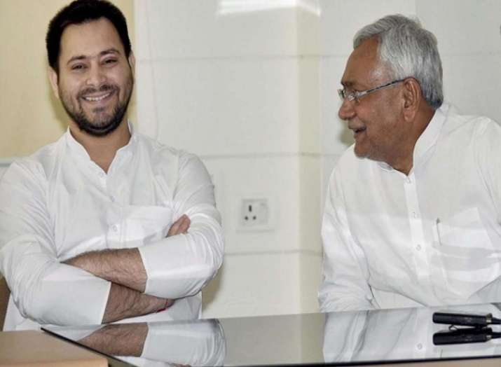 tejashwi yadav and nitish kumar- India TV