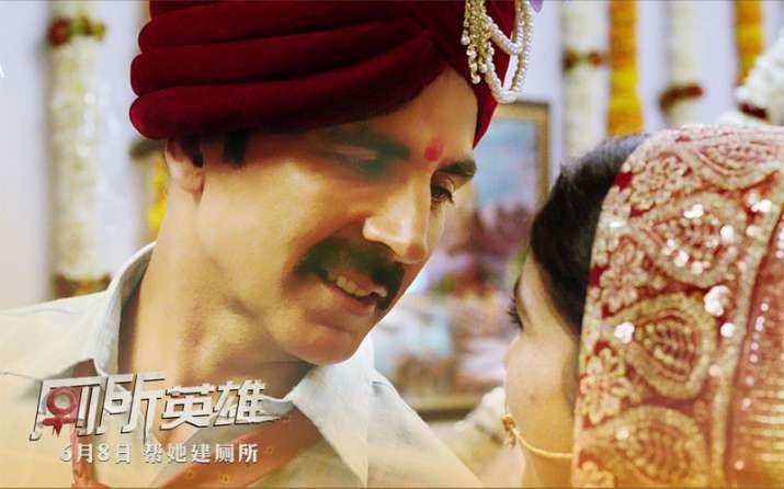 'Toilet: Ek Prem Katha' of Akashay Kumar secures number one spot on China Box Office- India TV Paisa