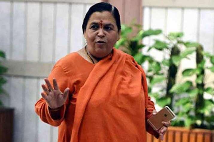 राम मंदिर पर उमा भारती को 'सब्र' नहीं, योगी-केंद्र पर खड़े किए सवाल- India TV