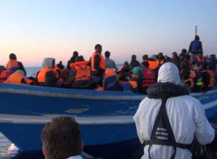 More than 50 refugees buried in Mediterranean Sea 48...- India TV