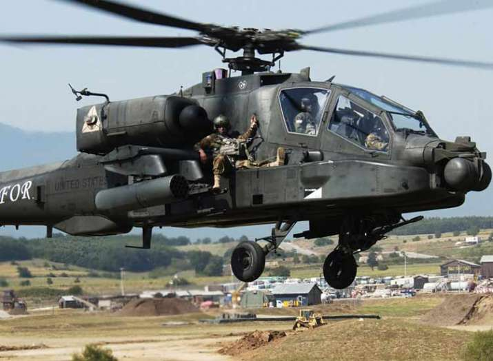 US to sell 6 AH-64 Apache helicopters to india- Khabar IndiaTV