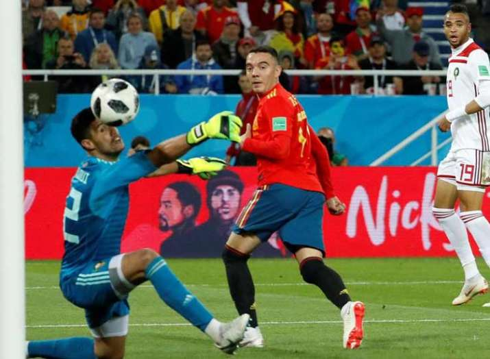 Spain claim dramatic draw against Morocco- India TV