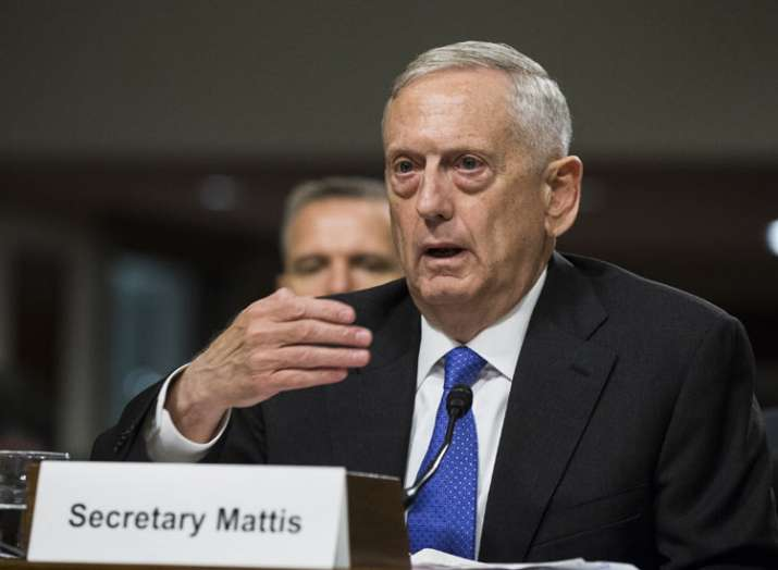 james mattis- India TV