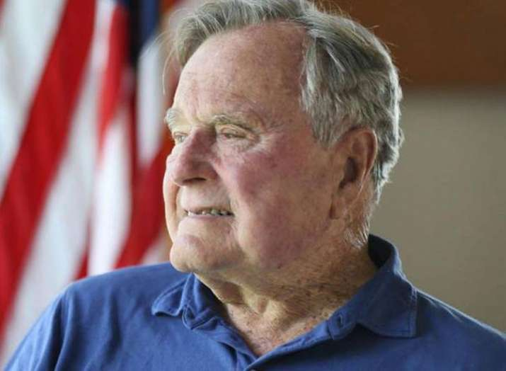 George H.W. Bush Becomes First U.S. President to Turn 94...- Khabar IndiaTV