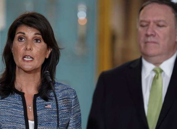 US withdraws from United Nations Human Rights Council- India TV