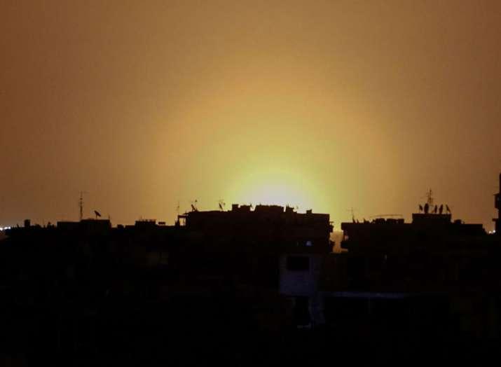 Israeli missiles attacked near Damascus International...- India TV