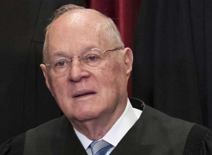 American Supreme Court Judge Anthony Kennedy announces...- India TV