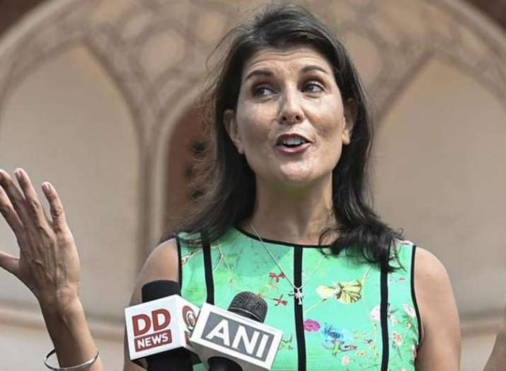 India journey aims to strengthen relations said nikki...- India TV