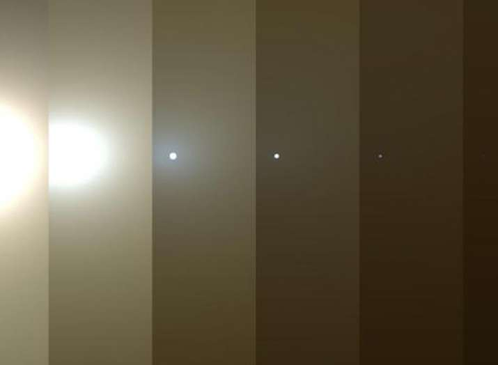 NASA Mars Rover Opportunity Powers Down During Dust...- India TV