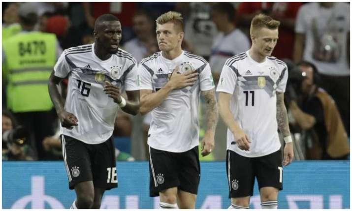 जर्मनी के खिलाड़ी- India TV