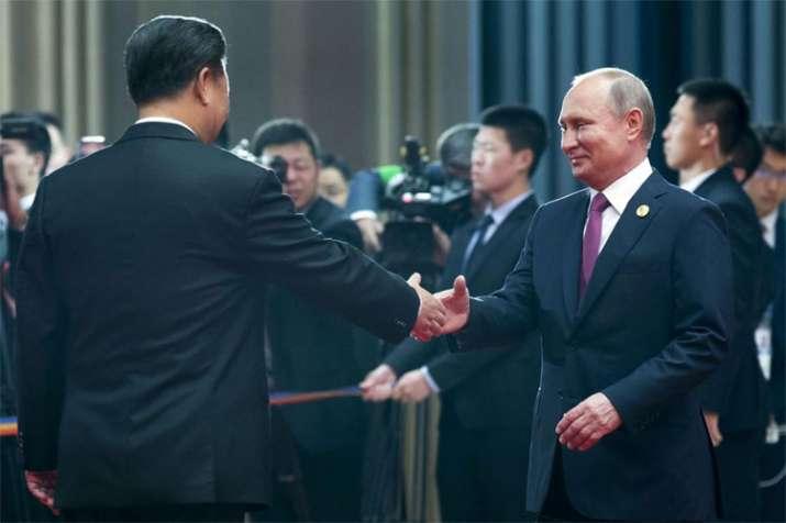SCO Summit: As G7 feuds, Xi Jinping and Vladimir Putin play up their own club | AP- India TV