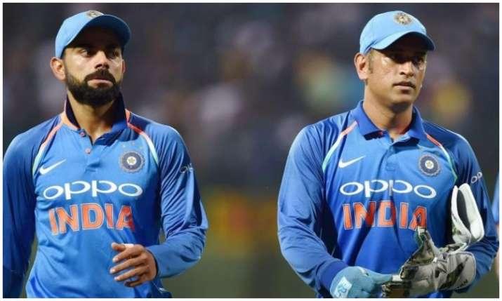 विराट कोहली और एम एस...- India TV