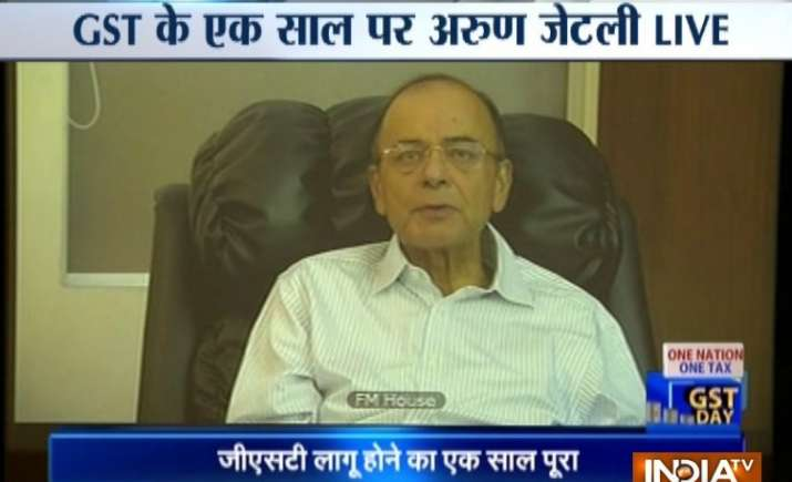 Congress ruled states don't seems to be ready for petroleum products under GST says Arun Jaitley- India TV Paisa