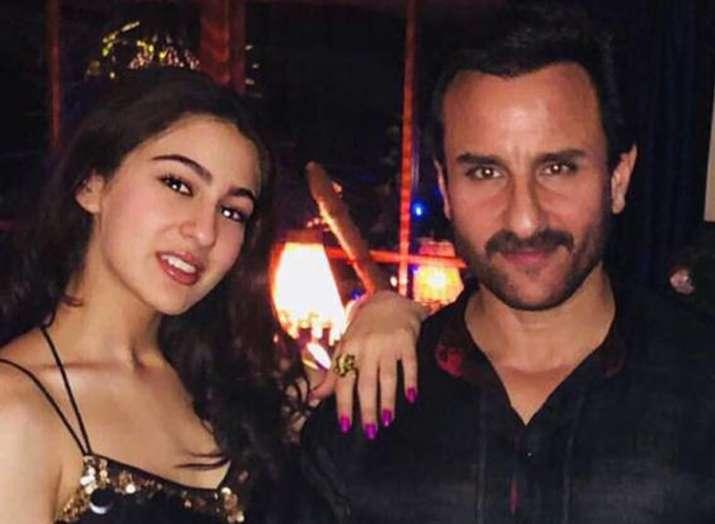 Saif Ali Khan and Sara Ali Khan- Khabar IndiaTV