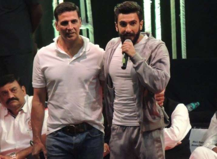 Ranveer Singh wants to be like Akshay Kumar- India TV