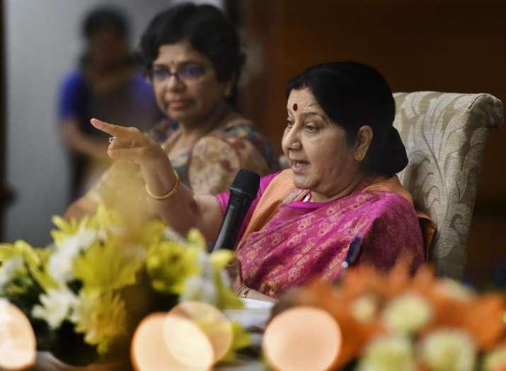 सुषमा स्वराज- India TV