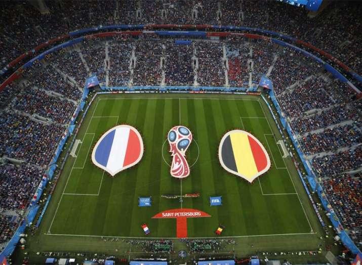 फ्रांस ने बेल्जियम...- India TV