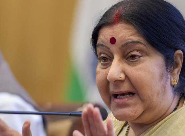 विदेश मंत्री सुषमा...- India TV