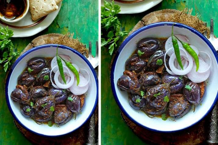 achari baingan recipe- India TV