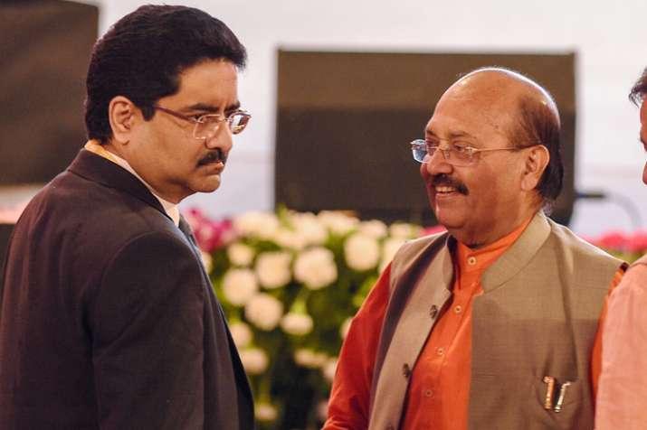 Lucknow: Rajya Sabha member Amar Singh and industrialist...- India TV