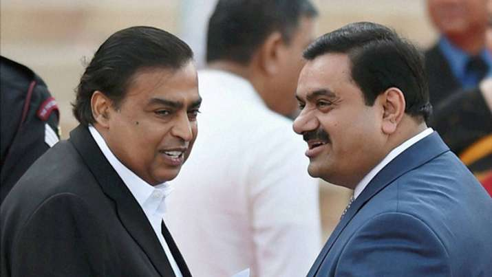 mukesh ambani and gautam adani- India TV Paisa