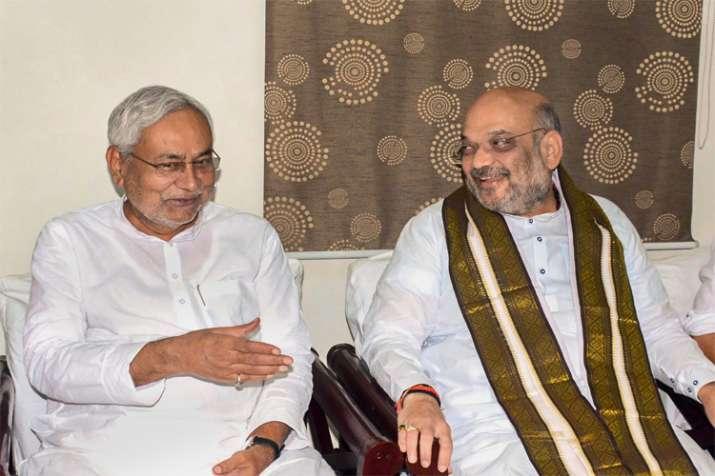 Amit Shah and Nitish kumar- Khabar IndiaTV
