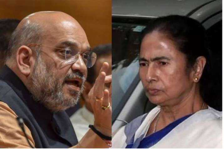 Amit Shah and Mamta Banerjee- India TV