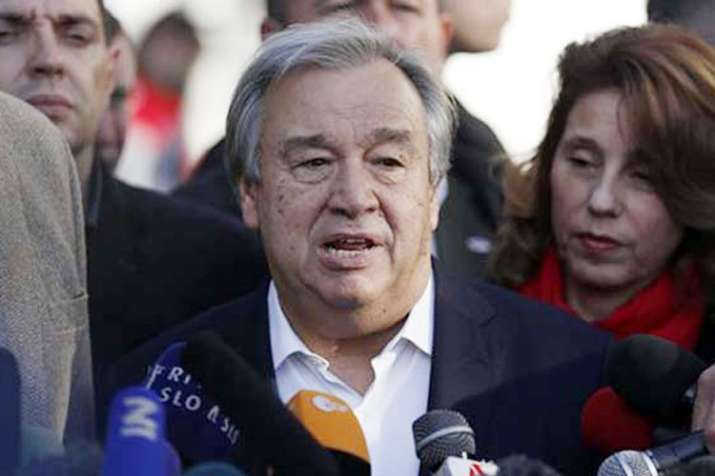 UN chief Antonio Guterres hints at support for human rights probe in Kashmir | AP- India TV