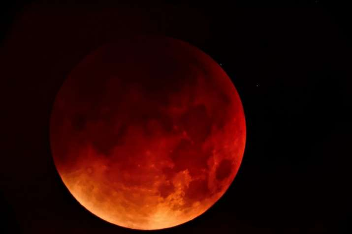 blood moon- India TV