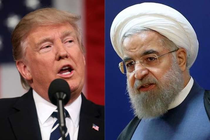 Donald Trump and Hassan Rouhani | AP- India TV