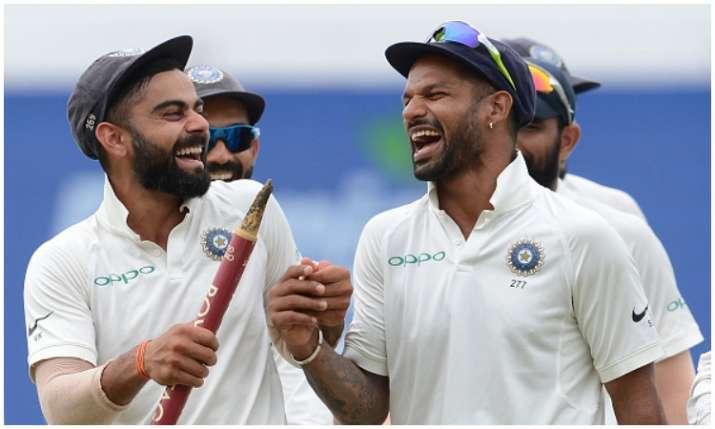 विराट कोहली और शिखर...- India TV