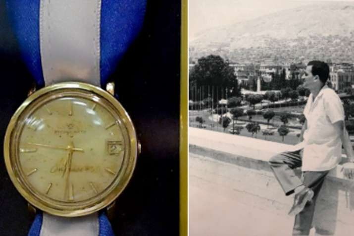 Watch of Israeli spy Eli Cohen recovered by Mossad in secret operation   GPO- India TV