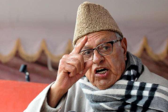 पाकिस्तान से वार्ता बगैर कश्मीर में शांति असंभव: फारूक अब्दुल्ला- India TV
