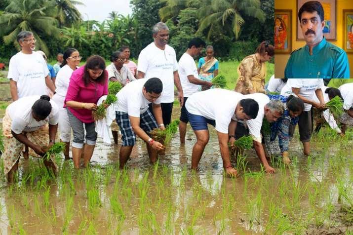 Goa agruiculture minister Vijai Sardesai - India TV